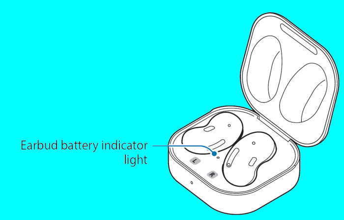 4 ways to check Galaxy Buds Live battery level 1