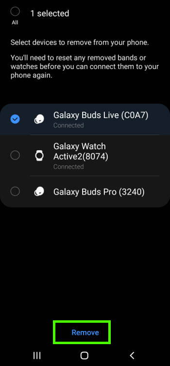 How to manage Galaxy Buds Live in Galaxy Wearable App? 2